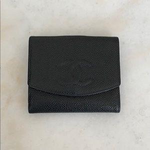 CHANEL fold wallet